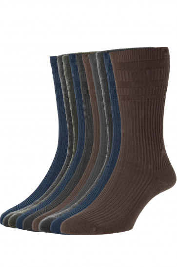 10-Pairs - Softop® Original WOOL Rich - HJ90/10PK - (11-13)
