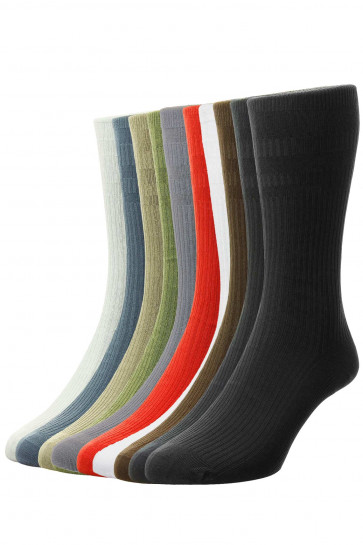 10-Pairs - Softop® Original COTTON Rich - HJ91/10PK - (11-13)