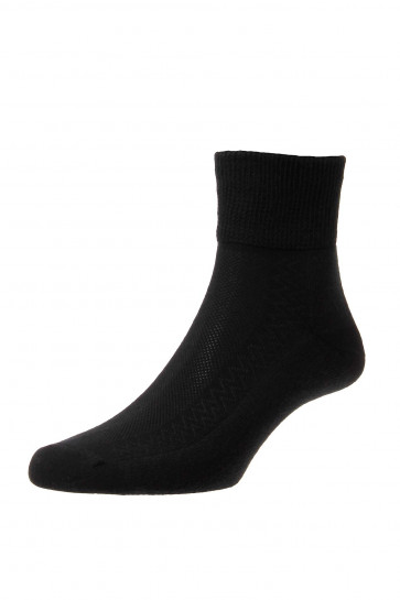 Diabetic Low-Rise Socks - Cotton - HJ1361