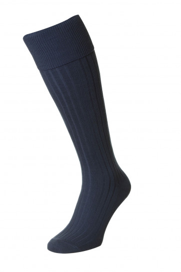 Bermuda - Cotton Golf Socks with Turn-Over-Top - HJ166