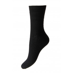 EXTRA WIDE - Ladies Softop® Socks - Wool Rich - HJ190H
