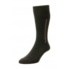 Fancy Panel Half Hose Classic Sock - HJ44