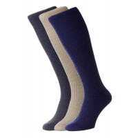 3-Pairs - Immaculate™ Half-Hose Wool Rich Socks (with Lycra®) - HJ75/3PK - (6-11)