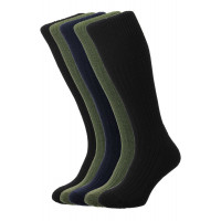 5-Pairs - Commando Socks - HJ3000/5PK - (UK 11-13)