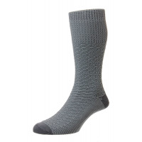 Indestructible™ - Textured Jacquard Work Boot Half Hose Socks - HJ5